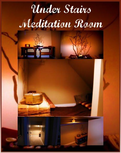 Meditation Room Designs: Under Stairs Meditation