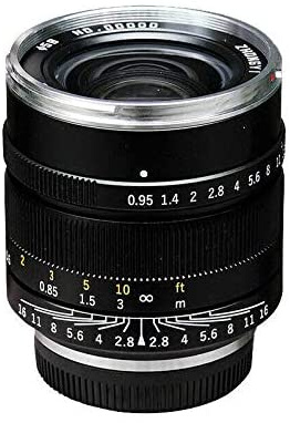 Mitakon Speedmaster 17mm f/0.95, черный