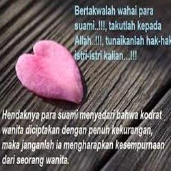 Kata Kata Yang Menyentuh Hati Untuk Suami