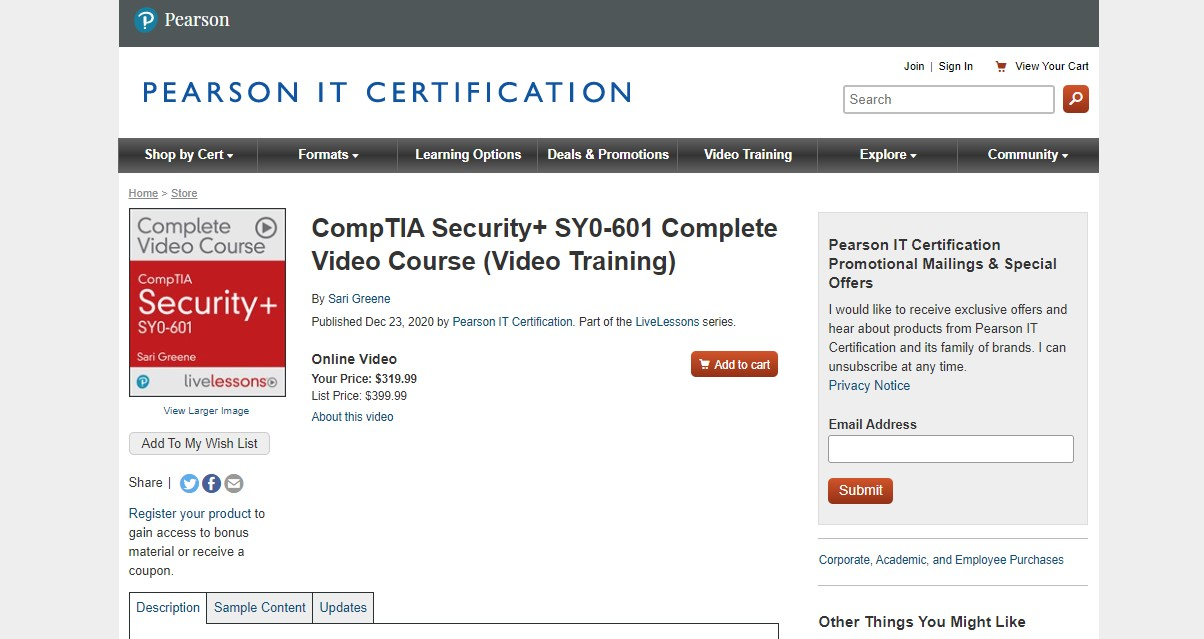 CompTIA Security+ SY0-601 Complete Video Course (Video Training) Free Download - Google Drive Links