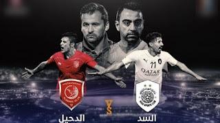 مشاهدة مباراة السد والدحيل بث مباشر في نهائي كاس قطر 2020