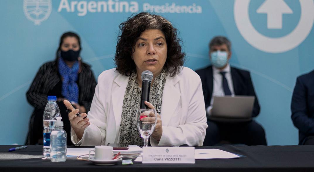Carla Vizzotti habló sobre las nuevas restricciones y no descartó que se endurezcan