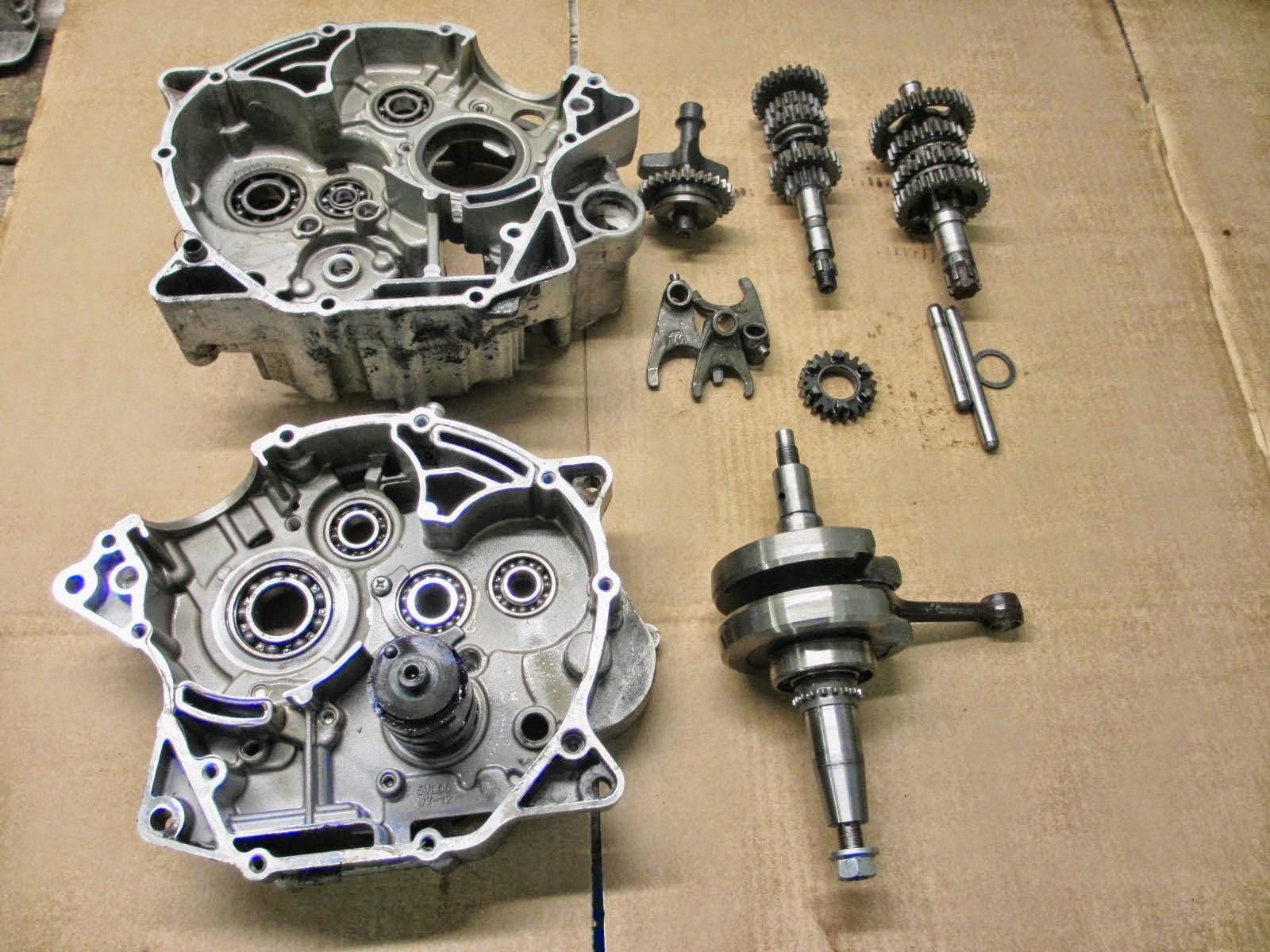 Yamaha YBR 125 Owner Blog : Yamaha YBR 125 gearbox problems , wont