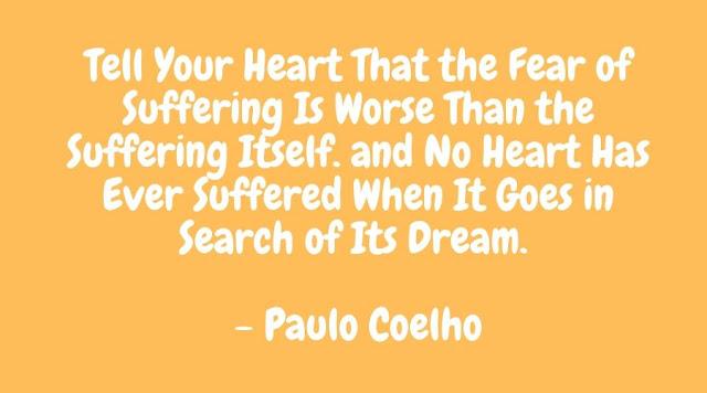 paulo coelho quotes fear