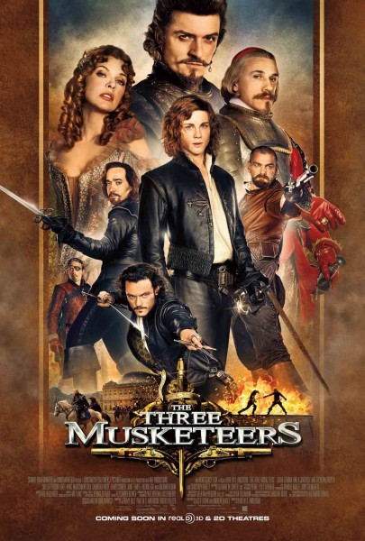 The Three Musketeers 2011 Dual Audio Hindi BluRay 720p at movies500.info
