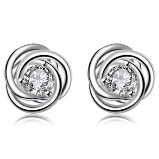 Classic Solitaire Earrings