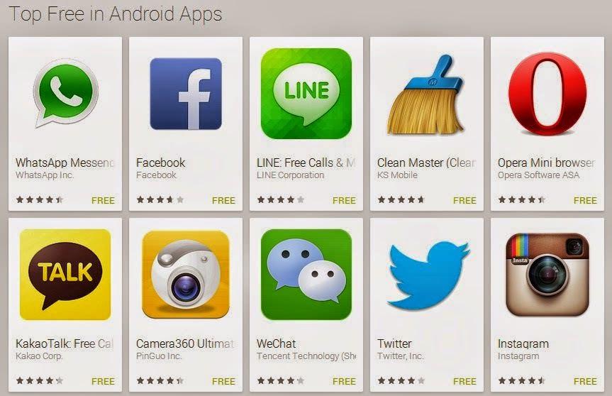 Daftar Aplikasi Android yang Wajib di Install 2015