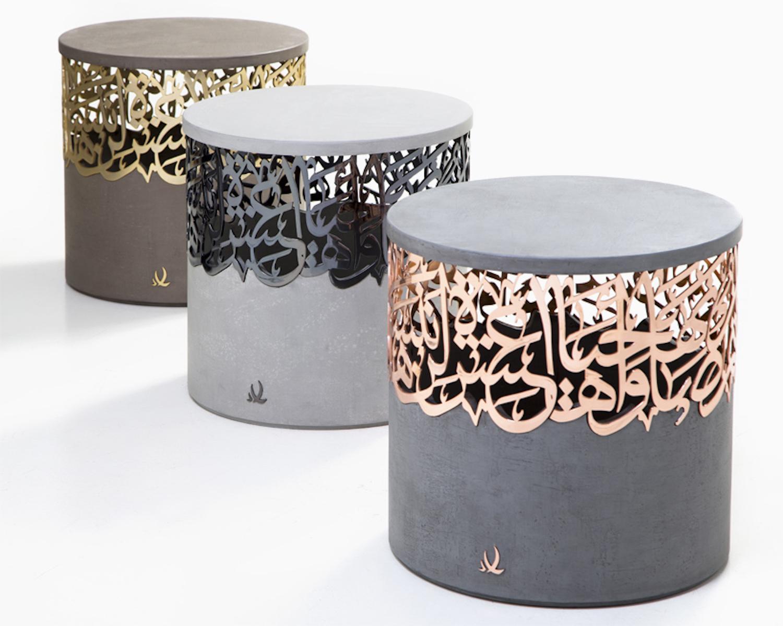 Stool Chair Dubai Portable Beach Chairs Canada When Avant Garde Meets Arabic Bananapook