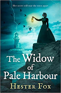 The Widow of Pale Harbour by Hester Fox cover