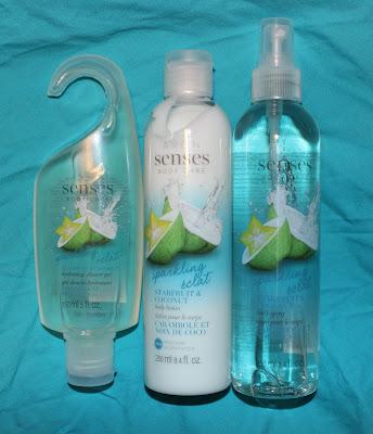 Avon Senses Sparkling Starfruit & Coconut