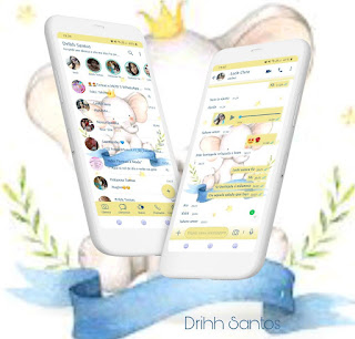 White Elephant Theme For YOWhatsApp & Fouad WhatsApp By Driih Santos
