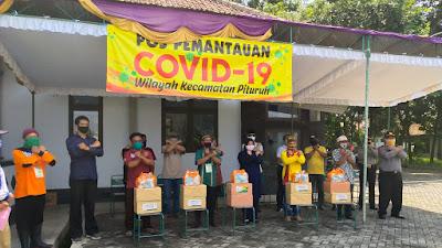 Wakil Bupati Purworejo Kunjungi 14 Posko Siaga Covid-19
