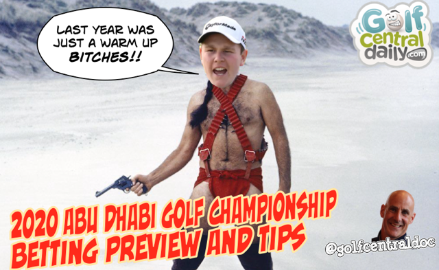 2020 Abu Dhabi Golf Betting Tips