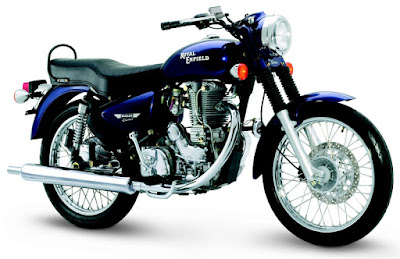 Royal Enfield Bullet 350 blue image