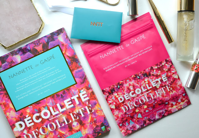 Nannette de Gaspe Vitality Revealed Decollete Dry Masque