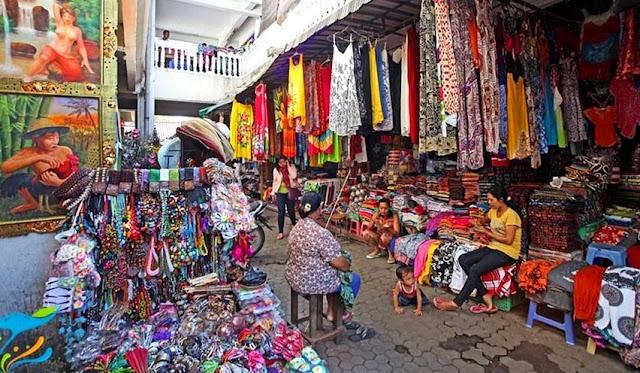 Pasar Seni Sukawati Gianyar Bali