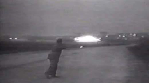 Emergen imágenes de una nave espacial extraterrestre aterrizando en Ostankino, Moscú 2
