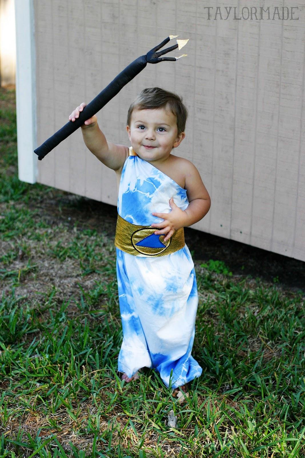 Poseidon - King of the Sea... a costume - TaylorMade