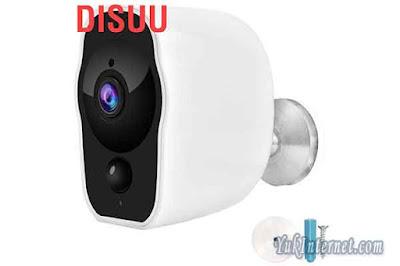 Disuu Kamera CCTV Wireless Wifi HD 1080P