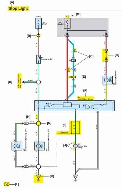 electrical wiring diagram toyota yaris