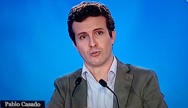 """Casado teme que """"la incierta investidura"""" de Sánchez pueda """"cerrarse de mala manera"""""""