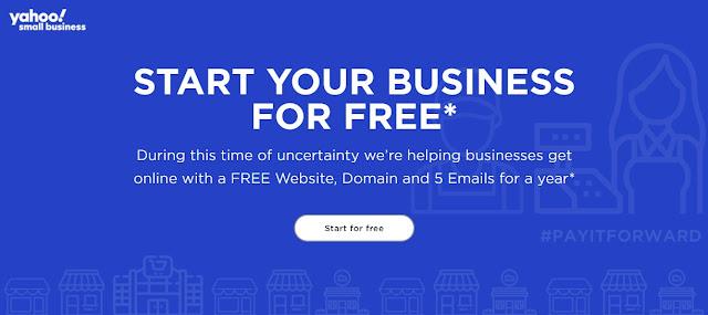 Cách reg tên miền .com .net miễn phí trên Yahoo