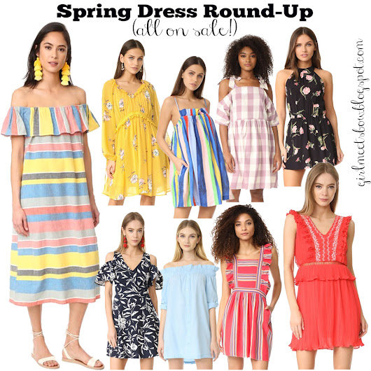 Let's Talk Spring Dresses + Shopbop's Sale of the Season!