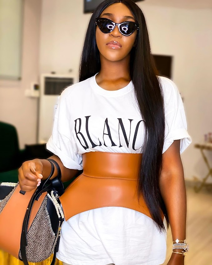 This Luxurious Loewe Belt On Idia Aisien Is Such A Vibe!
