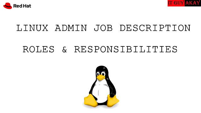 server admin jobs tasks