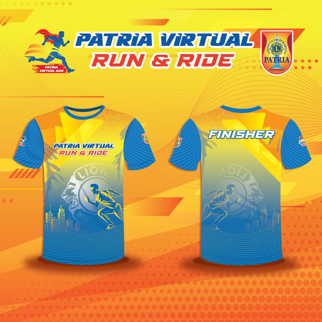 Jersey 🎁 Patria Virtual Run & Ride • 2021