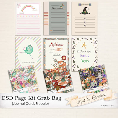 Lou's Blog with freebies