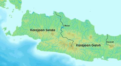 Letak dan Wilayah Kerajaan Galuh