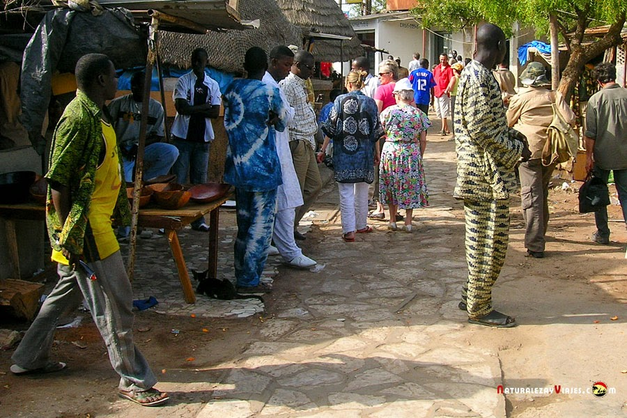 Mercado de Dakar, Senegal