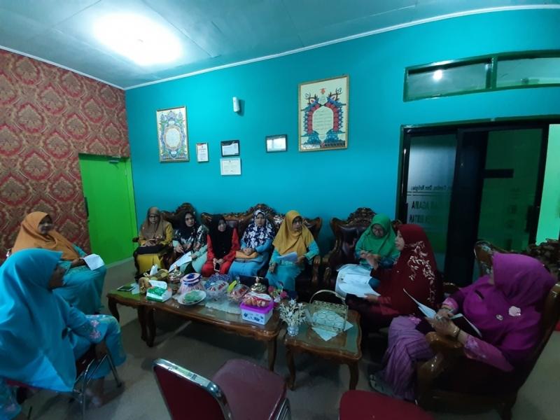 Rangkul Para Istri KUA, DWP Kemenag Bintan Adakan Pertemuan Bahas Program Kerja dan Bentuk Kepengurusan Baru