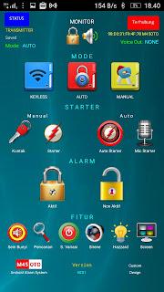 aplikasi alarm M45OTO
