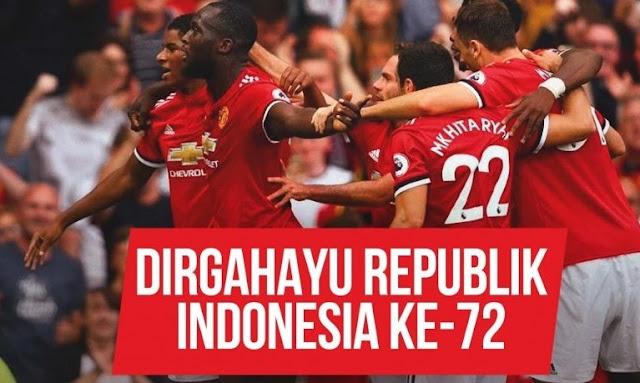 Tak Ketinggalan, Klub-Klub Eropa Ucapkan Dirgahayu Ke-72