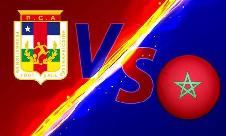 بث مباشر مباراة المغرب وافريقيا الوسطي
