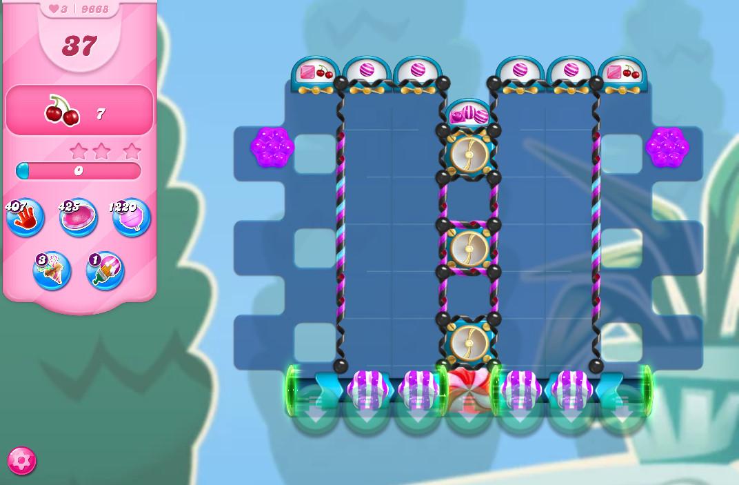 Candy Crush Saga level 9668