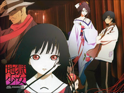 "Horror anime ""Jigoku Shoujo: Hell Girl"""