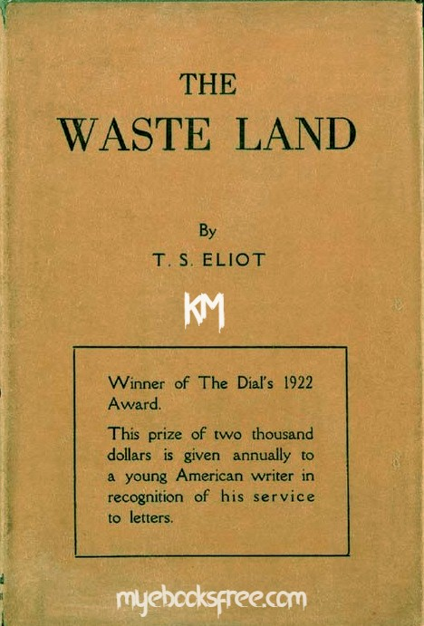 The Waste Land Pdf Poem by T. S. Eliot