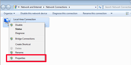 how to fix unidentified network windows 7 lan