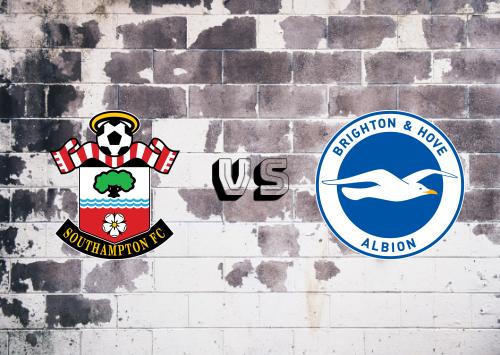 Southampton vs Brighton & Hove Albion  Resumen