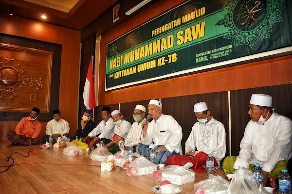 Peringatan Maulid Nabi Muhammad SAW Rutin PCNU Kota Pasuruan