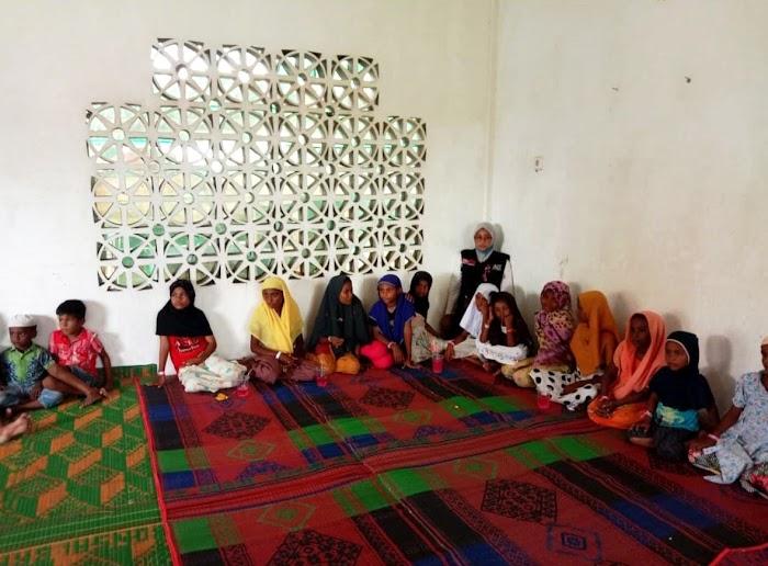 Anak-anak Rohingya di Aceh Antusias Ikuti Kegiatan Trauma Healing