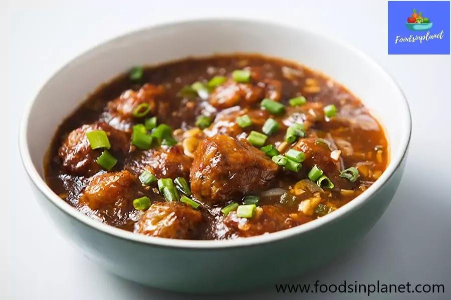 Gobi Manchurian Recipe with Gravy - Indo - Chinese Food