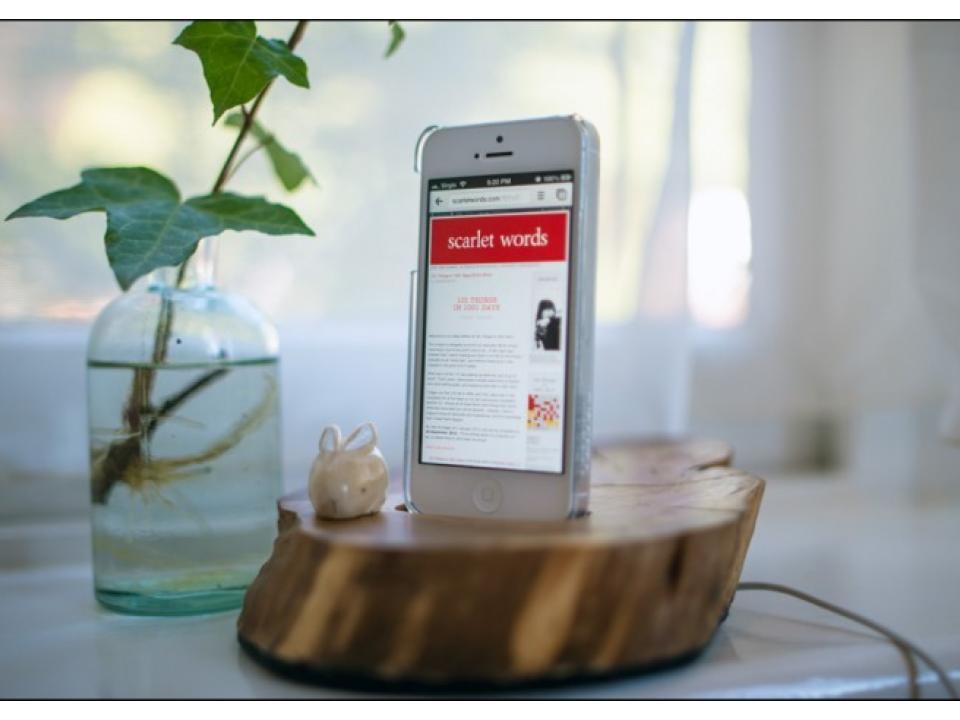 Make a phone dock using a dremel tool