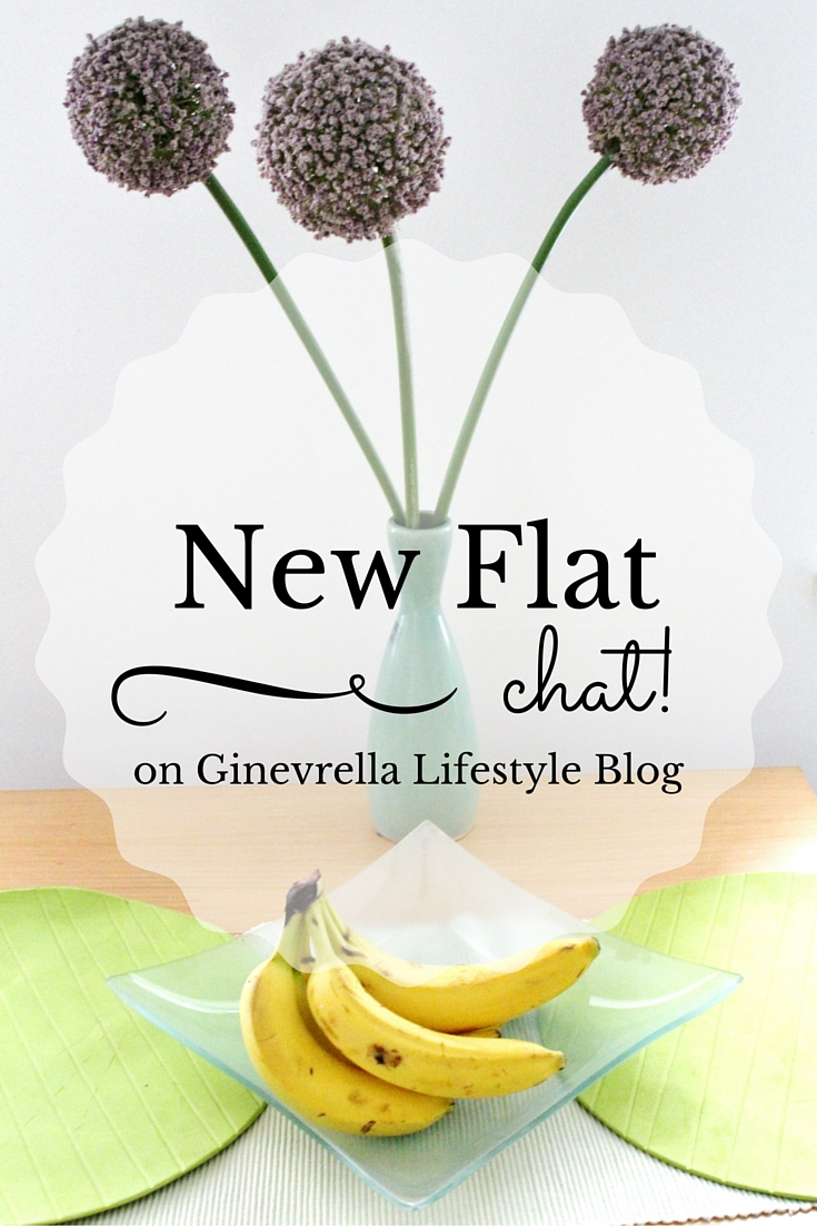 New Flat Chat title post, decorative flowers and bananas