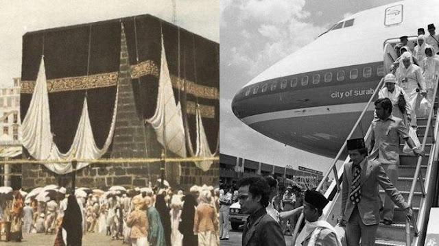 Jangan Kaget! Perjalanan Pertama Haji Melalui Udara Tahun 1952, Tarifnya Hanya Segini