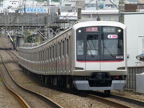 東急東横線 副都心線直通 急行 和光市行き1 東急5050系