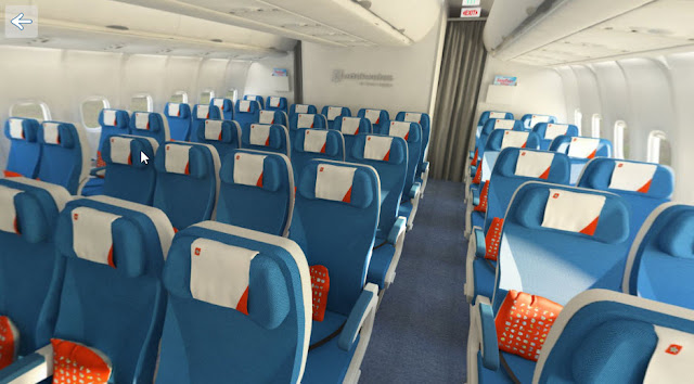 Nuova Economy Class Edelweiss Air
